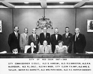 Red Deer City Council 1967-1968